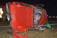 Three Injured in Early Morning I-70 Crash