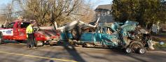 CareFlight Called to Single Vehicle Accident on Dayton Road